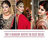 Top 5 Makeup Artist in East Delhi - Makeup Artist in East Delhi : powered by Doodlekit
