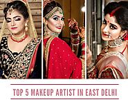 Top 5 Affordable Makeup Artist in East Delhi - Makeupartisteastdelhi - Medium