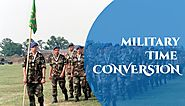 Military Time Conversion: 24 Hour Military Time Converter