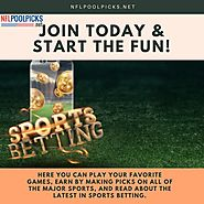 Make free NFL picks against the spread along with playing our NFL football office pool picks with friends. Get Starte...
