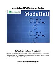 BUy Modalert Online | Modafinil And It's Working Mechanism. by Denial - Issuu