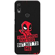 Shop Latest Graphic Redmi 7 Back Cover at Beyoung