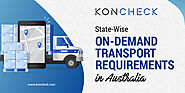 What are the State-Wise On-Demand Transport requirements in Australia?