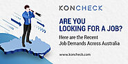 Are you Looking For a Job? This Blog Contains Recent Job Demands Across Australia