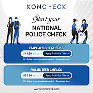 KONCHECK offers tailor-made business solutions for your organisation! – National Police Check & Background Check