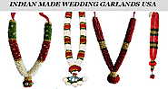 Get lovely Indian Made Wedding Garlands USA in a Few Clicks