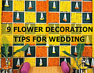 Tips to Decorate Wedding Flowers