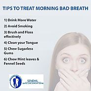Tips to cure morning bad breath