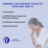 Common lung diseases caused by poor oral health