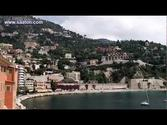 Villefranche sur mer - beach and streets - nice - french riviera