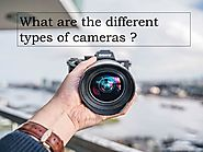 What are the different types of cameras?
