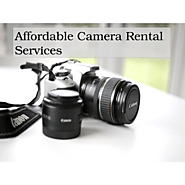Affordable Camera Rental Services
