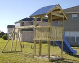 How to Build Outdoor Wooden Playground For Kids - Equipment & Design