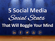 5 Social Media Social Stats That Will Boggle Your Mind