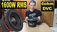 The Best $99 Subwoofer On The Market? Rockville W10K9D4 Review