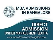 Get MBA Admission in RV College