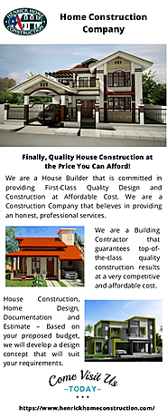 Best Home construction company