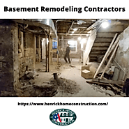 Basement Remodeling Contractors | Henrick Home Construction
