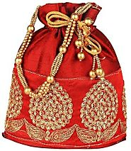 Potli and Gift Bags | Indian Pooja Items Online - Florist in USA