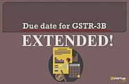 Due date for Filing GSTR-3B for November 2019 Extended