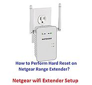 Untitled — How to Perform Hard Reset on Netgear Range...