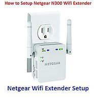How to Setup Netgear N300 Wifi Extender – Router Login Setup