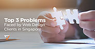 Top 3 Problems Faced by Web Design Clients in Singapore | Verz Design