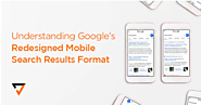 Understanding Google's Redesigned Mobile Search Results Format | Verz Design