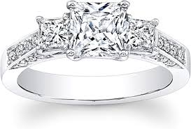 Headline for Distinct and Unique Princess Cut Diamond Wedding Ring Reviews 2016