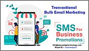 Transactional Bulk Email Marketing Services
