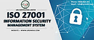 ISO 27001 certification in Thiruvananthapuram