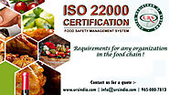 ISO 22000 Standard Certification in vadodara | FSMS : Food Safety Management System