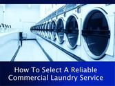 Features Of A Great Commercial Laundry Service