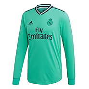 Real Madrid Third Away Green Long Sleeve Jerseys are Winter Special
