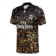Limited Edition of Real Madrid EA Sports Black & Golden Jerseys