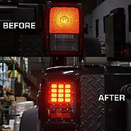 Why Should You Maintain the Tail Light of Your Jeep Wrangler?