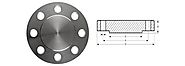 Stainless Steel Carbon Steel Blind Flanges Supplier, Dealer, Manufacturer and Exporter in India