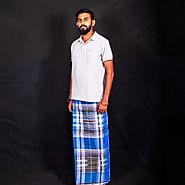 Chequered Lungi | Chequered Lungis Online India - KKB Store