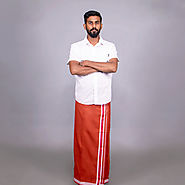 Kavi Lungi | Online Shopping | Buy Online Cotton Lungi-KKB Store