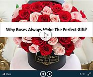 Why Roses Always Make The Perfect Gift?