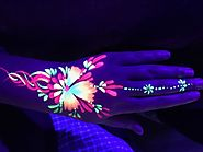 UV Party, UV Light Party Hire, UV Body Painter - Party Higher