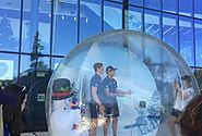Inflatable Snow Globe Hire - Inflatable Snow Globe Photo Booth | Party Higher