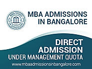 MBA at CHRIST College in Bangalore