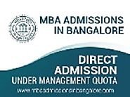 Direct MBA admissions
