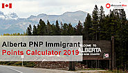Alberta PNP Immigrant Points Calculator 2019 | AINP Points System
