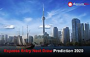 Canada Express Entry Next Draw Prediction 2020 | Cut off Express Entry
