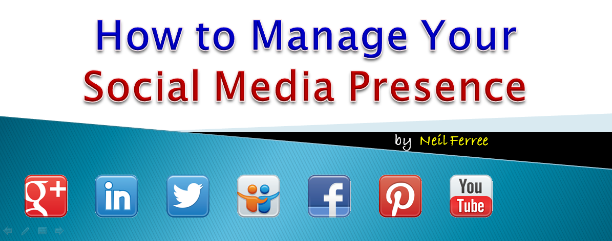 Headline for How to Manage Your Social Media Presence