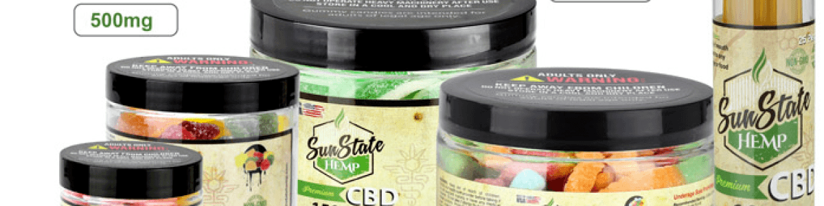 Headline for CBD Products for Sale | CBD Vitamins | Sun State Hemp
