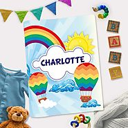 Rainbow Themed Customized Interactive Activity Book For Toddlers