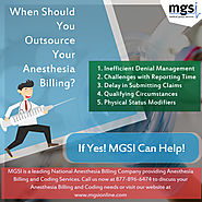 when should you outsource your Anesthesia medical billing?